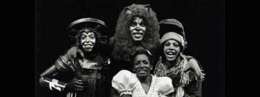 The original Broadway cast of The Wiz, 1975